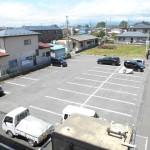 敷地内の専用駐車場
