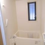 換気窓、シャワー付きの浴室