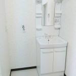 シャンプードレッサーと洗濯機置き場