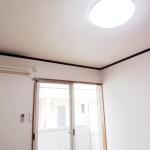 照明器具とエアコンは標準装備